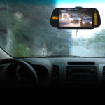 The ICU Video Monitor gives you great clarity of your rear view even in bad weather.
