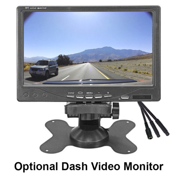 ICU Dash Video Monitor 7 Inch (Optional)