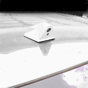 Basic WHITE color available for the Blackbird ICU Car Camera