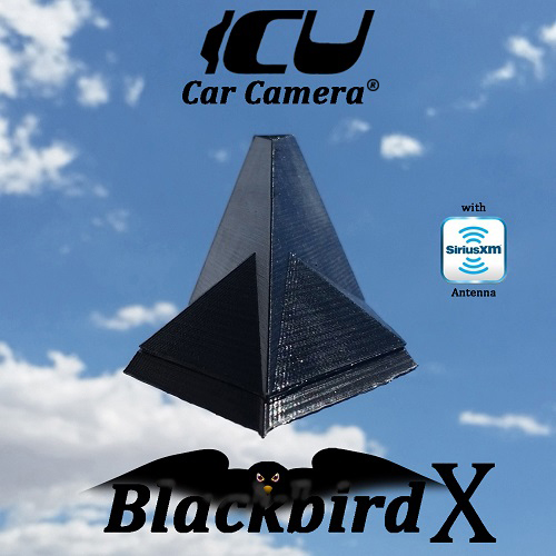 Blackbird-X ICU Car Camera® is a Full-time REAR VIEW Driving Cam, it is NOT a backup cam