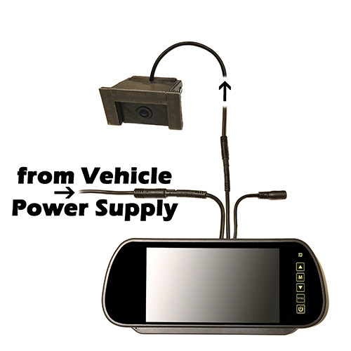 Hornet ICU Car Cam System-Standard Battery Power Supply Configuration
