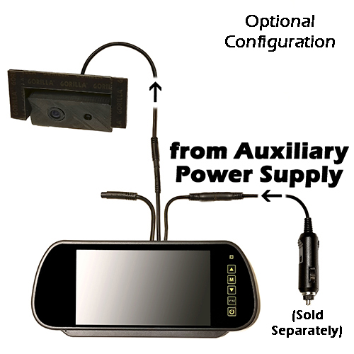 Scorpion ICU Car Cam System-Optional Auxiliary Power Supply Configuration