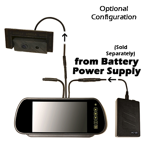 Scorpion ICU Car Cam System-Optional Battery Power Supply Configuration