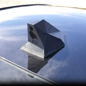 Basic BLACK color available for the Blackbird ICU Car Camera