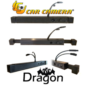 The Dragon ICU Car Camera is a 3-way dash cam with FRONT, LEFT, AND RIGHT CAMERAS