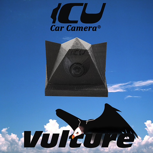The Vulture ICU Car Camera® is a Full-time REAR VIEW Driving Cam, it is NOT a backup cam