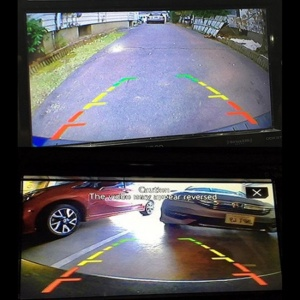 Factory Installed Backup Camera View