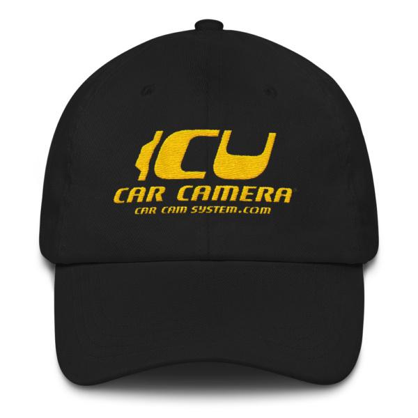 "The Official ICU Car Camera Cap with the ICU Car Camera ""SUNSET"" logo"