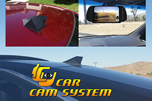 The ICU Car Cam System includes a Rear View Camera and Video Monitor