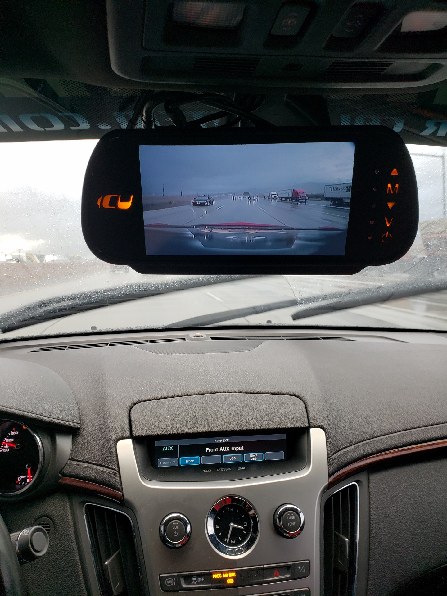 See perfectly behind your car and in your blind spots when you drive or park. The ICU Car Camera can see so well in bad weather it's like driving on a sunny day!