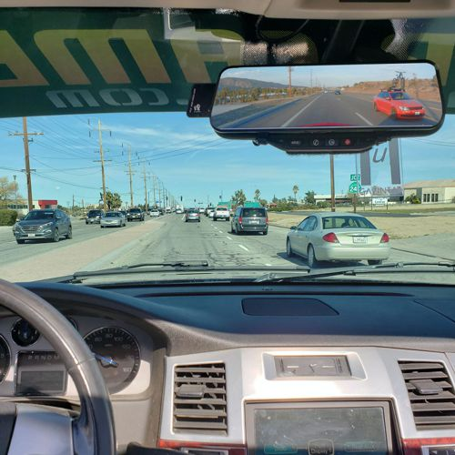 The Phantom ICU Car Camera is a Full-time REAR VIEW Driving Camera and Video monitor. Now you can see behind you and your blind spots when driving. This is not a backup camera.