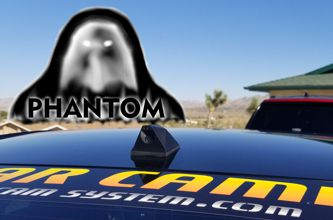 "The Phantom ICU Car Camera is a Full-time REAR VIEW Driving Camera to see behind you and your blind spots when driving. It comes with a beautiful 9.66"" Touchscreen Video Monitor/Mirror with a built-in Dash Cam and DVR to record front and rear cameras."