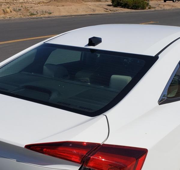 Honda Civic with a Phantom ICU Car Camera rear view camera installed