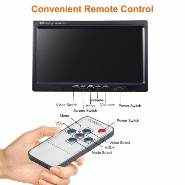 ICU Dash Video Monitor 7 Inch