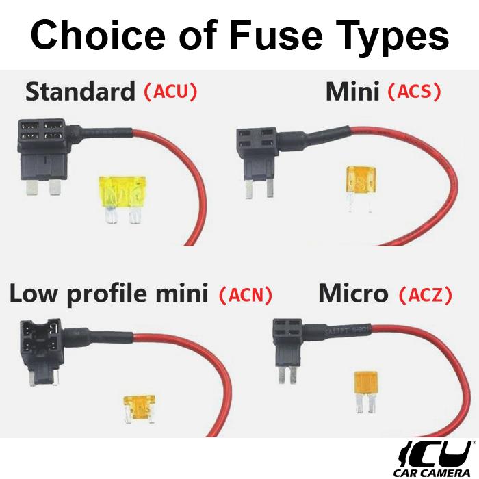 Fuse Box Power Adapter – ICU Car Cam System™ICU Car Cam System