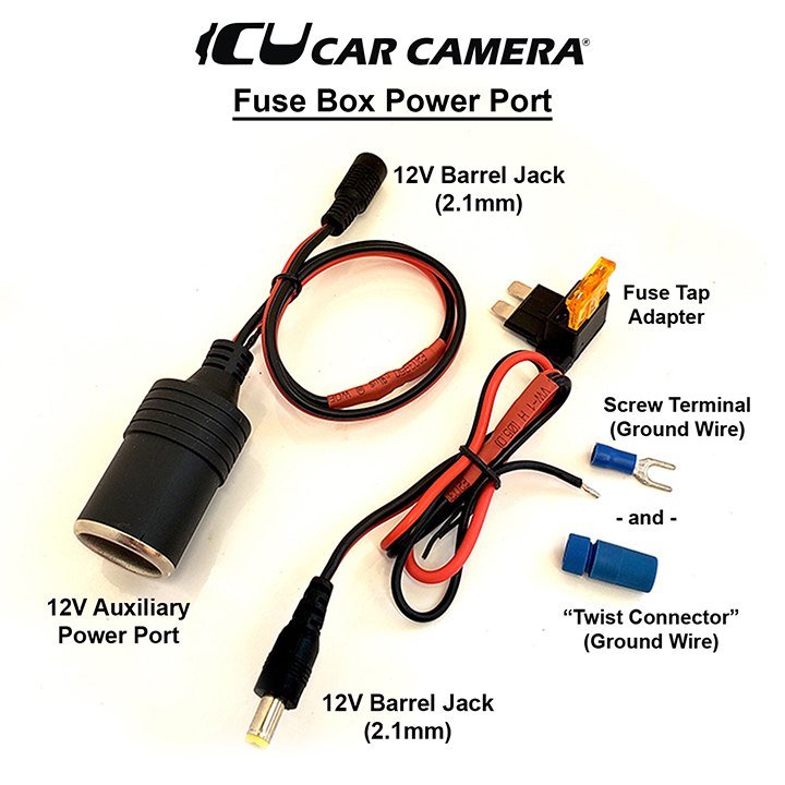 Fuse Box Power Port – ICU Car Cam System™ICU Car Cam System