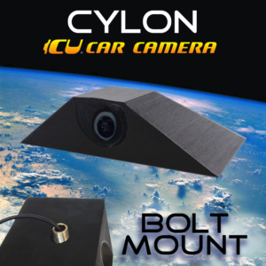 The Cylon ICU Car Camera is a Full-time REAR VIEW & Blind Spot Camera with wide-angle lens. Camera mounts to your roof or trunk for the best view or the road. Video Mirror Monitor attaches to your rear view mirror.