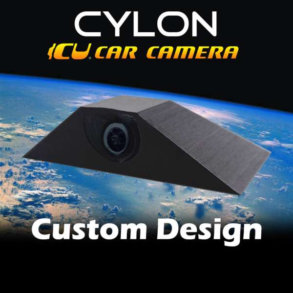 The Cylon ICU Car Camera Custom Design is a Full-time REAR VIEW & Blind Spot Camera with wide-angle lens. Camera mounts to your roof or trunk for the best view or the road. Video Mirror Monitor attaches to your rear view mirror.